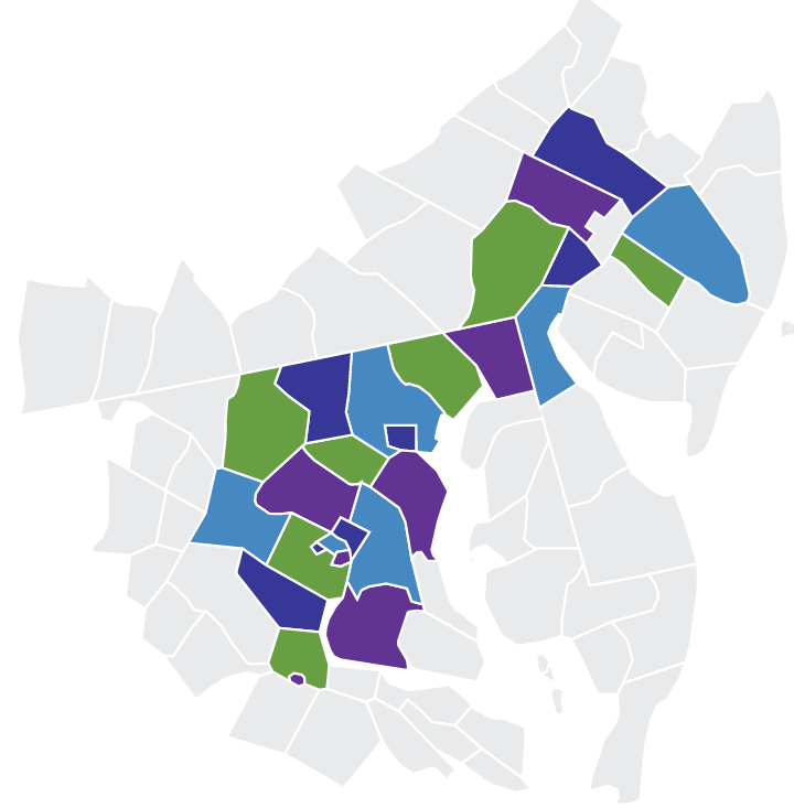 Graphic of a map with Len The Plumber's service area highlighted which includes Baltimore County, Howard County, and more.
