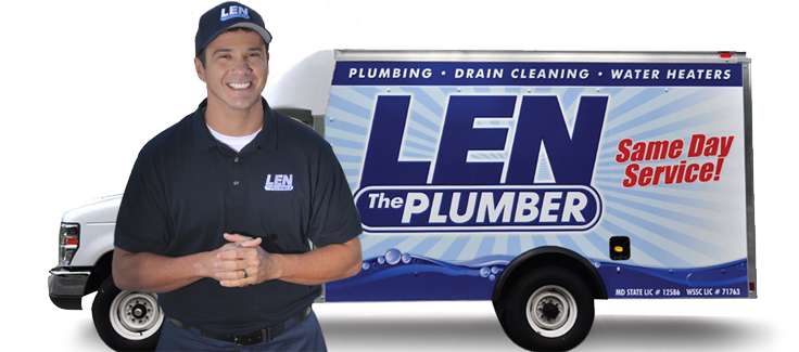 plumbers in harford county maryland len the plumber