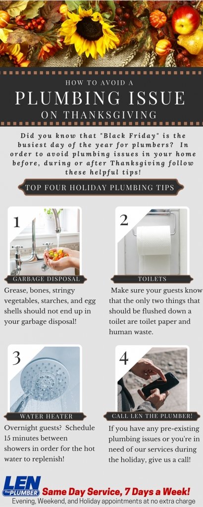 Plumbing Tips For Thanksgiving