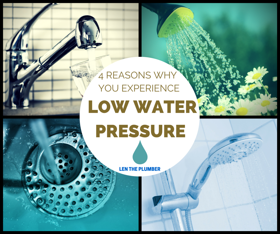 4 reasons why you could have low water pressure len the for Low water pressure in bathroom sink and shower