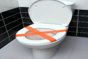 unclogging your toilet without a plunger