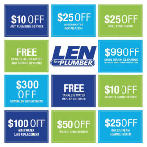 Len The Plumber - Internet Coupons
