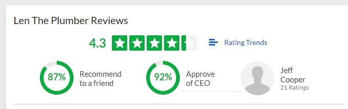 Len The Plumber Glassdoor reviews