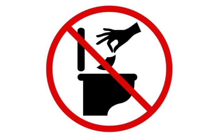 don't flush flushable wipes