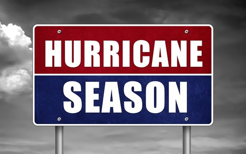 Be prepared for hurricane season