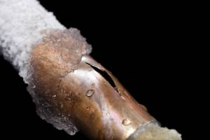 frozen pipe - Call Len The Plumber