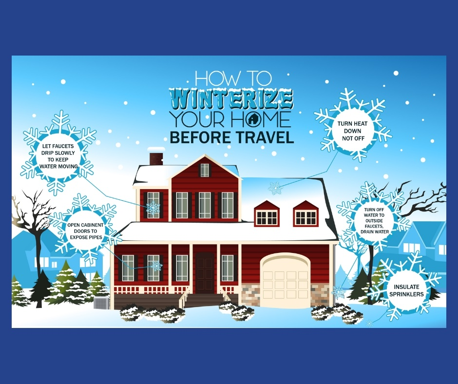 Winterize your home's plumbing