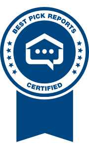 Best Pick Reports certified 2019 ribbon logo on a transparent background.