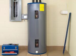 Boiler in the basement of a home in Alexandria, VA
