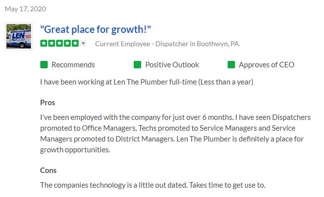 Employment Opportunities Len The Plumber